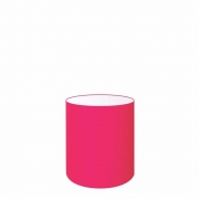 Cúpula Abajur Cilíndrica Cp-7001 Ø13x15cm - Rosa Pink