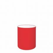 Cúpula Abajur Cilíndrica Cp-7001 Ø13x15cm - Vermelho
