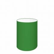 Cúpula Abajur Cilíndrica Cp-7002 Ø13x30cm Verde Folha