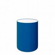 Cúpula Abajur Cilíndrica Cp-7004 Ø15x25cm Azul Marinho