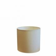 Cúpula Abajur Cilíndrica Cp-7005 Ø18x18cm Algodão Crú