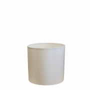 Cúpula Abajur Cilíndrica Cp-7005 Ø18x18cm Branco