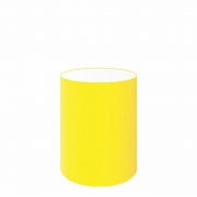 Cúpula Abajur Cilíndrica Cp-7006 Ø18x25cm Amarelo