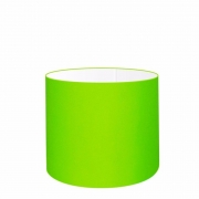 Cúpula Abajur Cilíndrica Cp-7007 Ø20x22cm Verde Limão