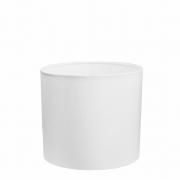 Cúpula Abajur Cilíndrica Cp-7013 Ø30x30cm Branco