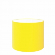 Cúpula Abajur Cilíndrica Cp-7015 Ø35x25cm Amarelo