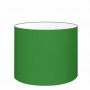 Cúpula Abajur Cilíndrica Cp-7021 Ø45x25cm Verde Folha
