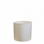 Cúpula Abajur Cilíndrica Cp-8005 Ø18x18cm Branco