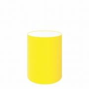 Cúpula Abajur Cilíndrica Cp-8006 Ø18x25cm Amarelo