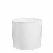 Cúpula Abajur Cilíndrica Cp-8007 Ø20x22cm Branco