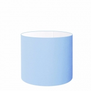 Cúpula Abajur Cilíndrica Cp-8010 Ø25x25cm Azul Bebê