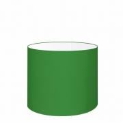 Cúpula Abajur Cilíndrica Cp-8013 Ø30x30cm Verde Folha
