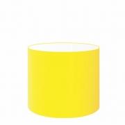 Cúpula Abajur Cilíndrica Cp-8014 Ø35x21cm Amarelo