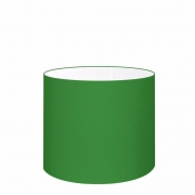 Cúpula Abajur Cilíndrica Cp-8014 Ø35x21cm Verde Folha