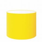 Cúpula Abajur Cilíndrica Cp-8021 Ø45x25cm Amarelo