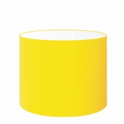 Cúpula Abajur Cilíndrica Cp-8022 Ø45x30cm Amarelo