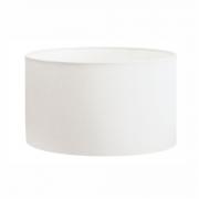 Cúpula Abajur Cilíndrica Cp-8025 Ø50x30cm Branco