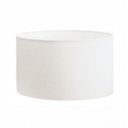 Cúpula Abajur Cilíndrica Cp-8026 Ø55x25cm Branco