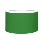 Cúpula Abajur Cilíndrica Cp-8027 Ø55x30cm Verde Folha