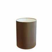 Cúpula Abajur e Luminaria em Tecido Cilíndrica Vivare Cp-8002 Ø13x30cm - Bocal Europeu