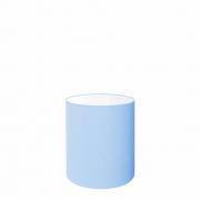 Cúpula em Tecido Cilindrica Abajur Luminária Cp-2009 13x15cm Azul Bebê