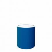 Cúpula em Tecido Cilindrica Abajur Luminária Cp-2009 13x15cm Azul Marinho
