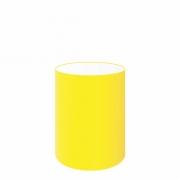 Cúpula em Tecido Cilindrica Abajur Luminária Cp-4012 18x25cm Amarelo