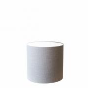Cúpula em Tecido Cilindrica Abajur Luminária Cp-4046 18x18cm Rustico Cinza