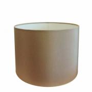 Cúpula em Tecido Cilindrica Abajur Luminária Cp-4146 40x30cm Palha