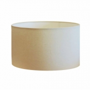 Cúpula em Tecido Cilindrica Abajur Luminária Cp-4189 50x30cm Algodão Crú