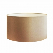 Cúpula em Tecido Cilindrica Abajur Luminária Cp-4189 50x30cm Palha