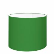 Cúpula em Tecido Cilindrica Abajur Luminária Cp-4189 50x30cm Verde Folha