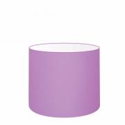 Cúpula em Tecido Cilíndrico Abajur Luminária Cp-4143 35x25cm Lilás