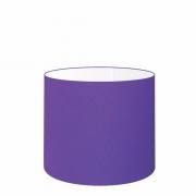 Cúpula em Tecido Cilíndrico Abajur Luminária Cp-4143 35x25cm Roxo