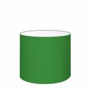 Cúpula em Tecido Cilíndrico Abajur Luminária Cp-4143 35x25cm Verde Folha