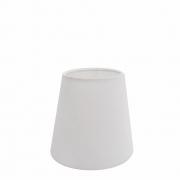 Cúpula em Tecido Cone Abajur Luminária Cp-2004 14/08x13cm Branco