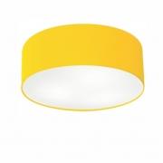 Plafon de Sobrepor Cilíndrico SP-3014 Cúpula Cor Amarelo