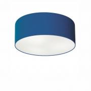 Plafon de Sobrepor Cilíndrico SP-3046 Cúpula Cor Azul Marinho