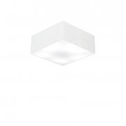 Plafon de Sobrepor Quadrado SP-3000 Cúpula Cor Branco