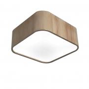 Plafon Para Banheiro em Madeira Quadrado SB-3061 Cor Natural