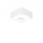 Plafon Para Banheiro Quadrado SB-3000 Cúpula Cor Branco