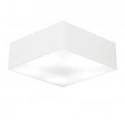 Plafon Para Banheiro Quadrado SB-3056 Cúpula Cor Branco