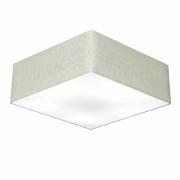 Plafon Para Banheiro Quadrado SB-3056 Cúpula Cor Rustico Cinza