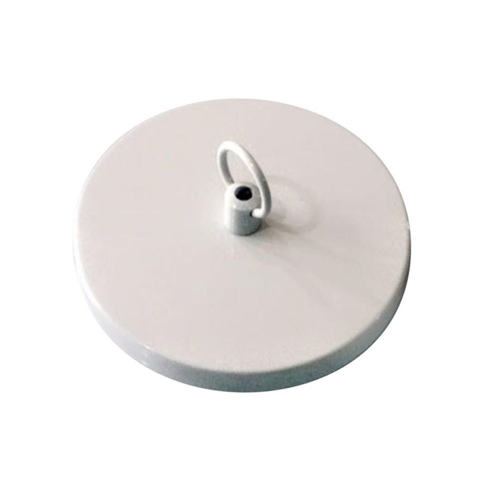 Canopla Lustre Pendente Elo Corrente Md-1008 11x1,2cm Branco