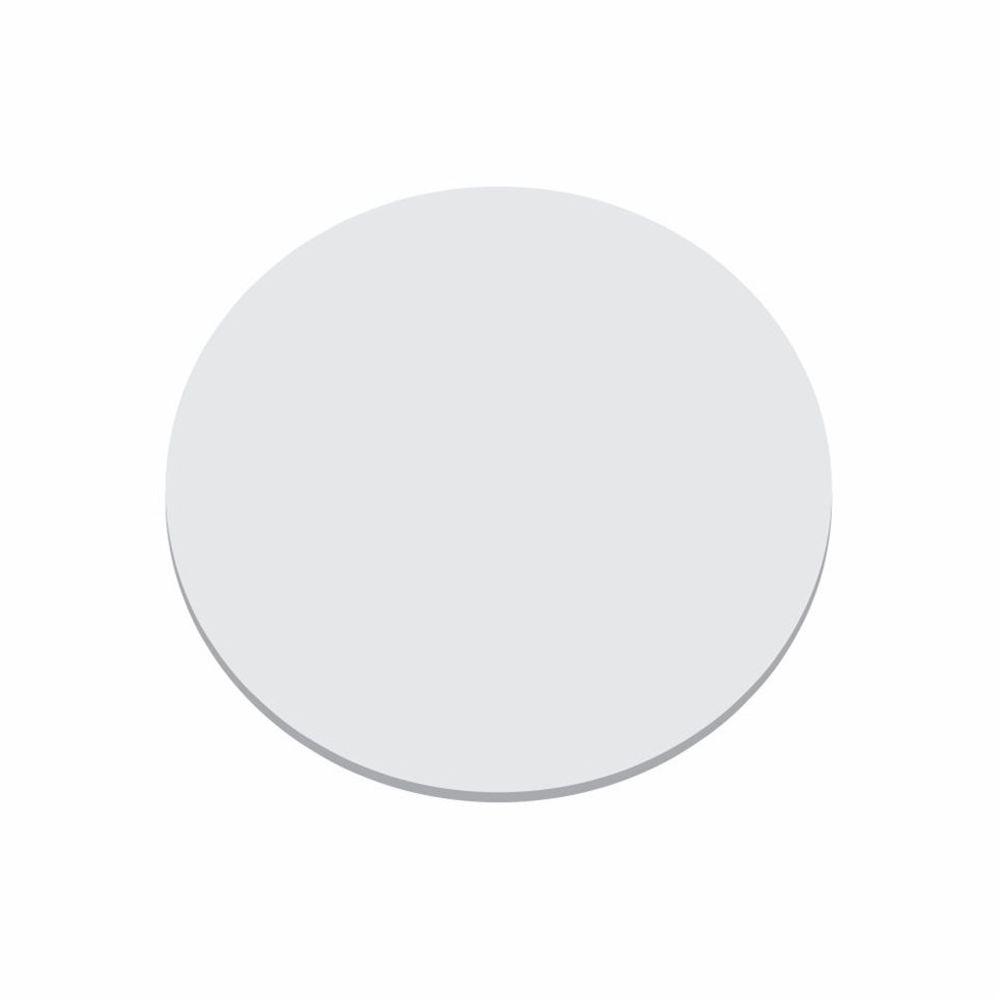 Disco Circular 18cm Branco P/ Lustre Tampa Luminaria 2mm x 18cm Td-6004