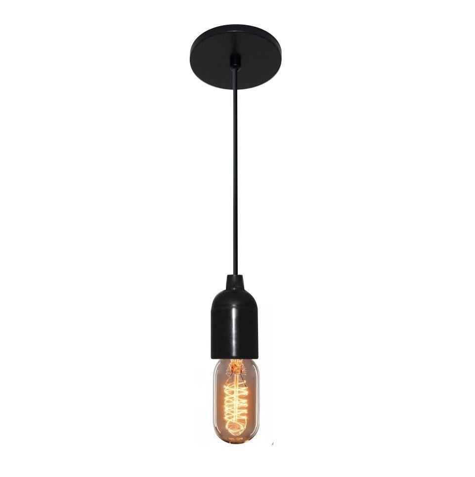 Lustre Pendente Lustre Luminária Md-4149 Suporte Para Lâmpada / Não Inclusa - Bivolt