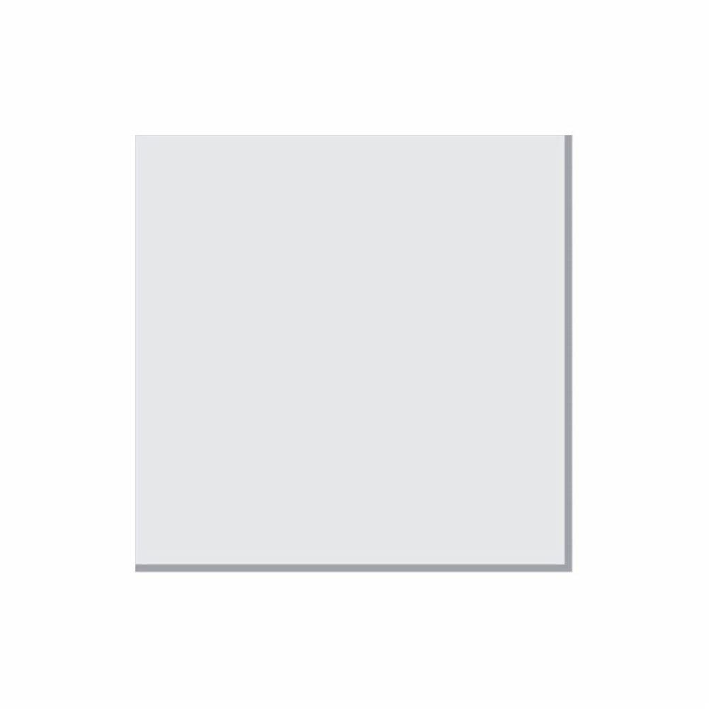 Tampa Quadrada 50cm Branco P/ Lustre Tampa Luminaria 2x50x50cm Tp-6004