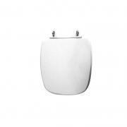 Assento Sanitário Poliéster para Louça Fit/Versato (Celite) Aço Cromado (Reb. Oculto) Branco
