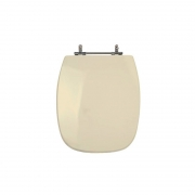 Assento Sanitário Poliéster para Louça Stylus (Celite) Aço Cromado (Reb. Oculto) Rosato