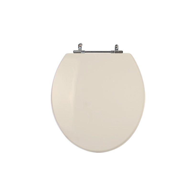 Assento Sanitário Poliéster para Louça Universal/Standard Aço Cromado (Reb. Oculto) Pêssego/Rosa Shell